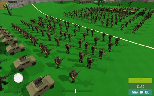 World War Modern Epic Battle Simulator apkmartins screenshots 1