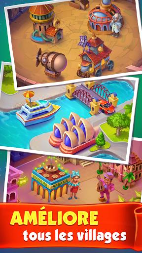 Télécharger Gratuit Spin Voyage - Lancez la roue pour des pièces ! mod apk screenshots 2