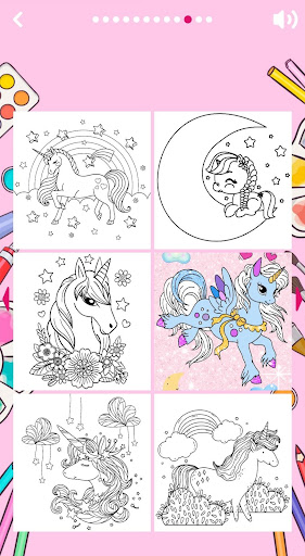 Unicorn Coloring Book ud83eudd84 2.2 screenshots 2