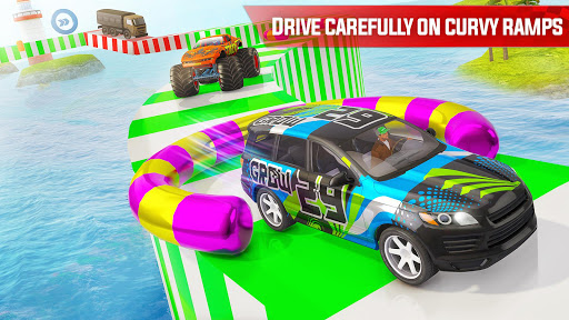 Ultimate Car Stunts - Mega Ramp Stunt Car Games apklade screenshots 2