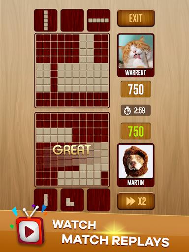 Woody Battle Block Puzzle Dual PvP 3.1.0 Pc-softi 10