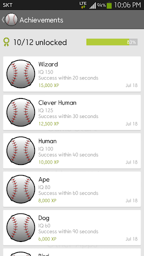 IQ Baseball - Number Puzzle 2.3.0 screenshots 5