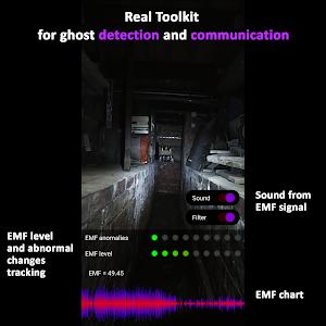 EMF Ghost Detector: Communicator and camera 0.23