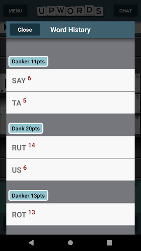 Upwords 2.017 screenshots 6