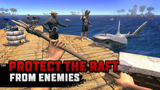Raft Survival Multiplayer Mod Apk 1 6