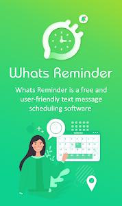 whats Message scheduler - Reminder for Whatsapp 1.2