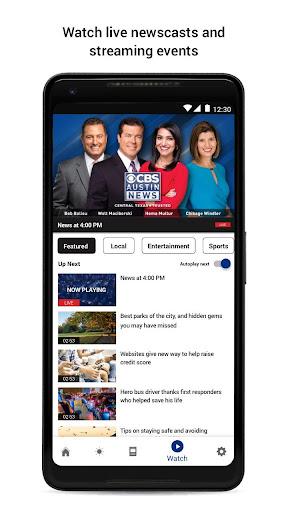 cbs austin news screenshot 2