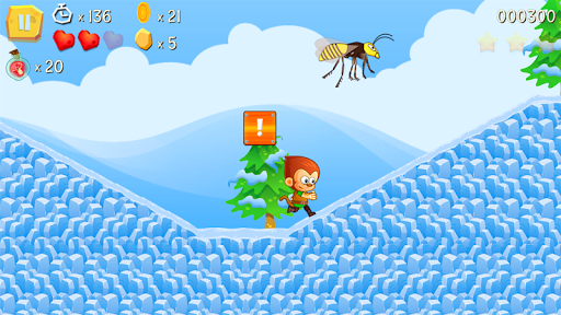 Télécharger Super Kong Jump - Monkey Bros & Banana Forest Tale apk mod screenshots 2