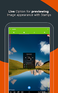 Add Text and Timestamp on Gallery Photos