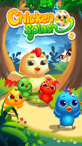 Chicken Splash 2 - Collect Eggs & Feed Babies 8.1 screenshots 3