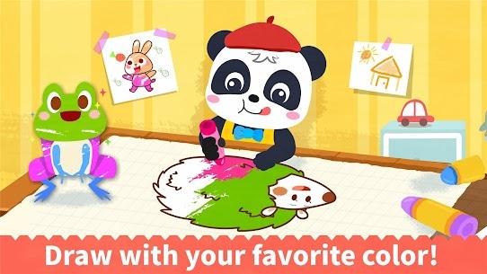 Baby Panda's Coloring Book 8