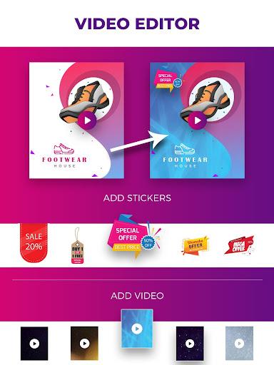 Video Flyers - Flyer Maker, Make Poster, Video Ads 21.0 Screenshots 10