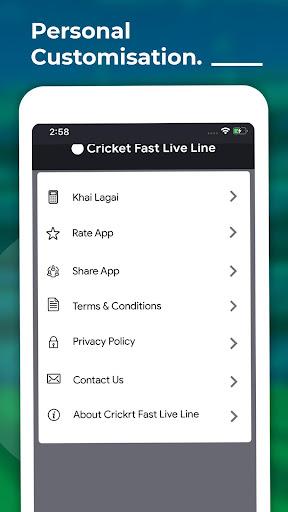 Cricket Fast live line - IPL Score 2021  Paidproapk.com 5