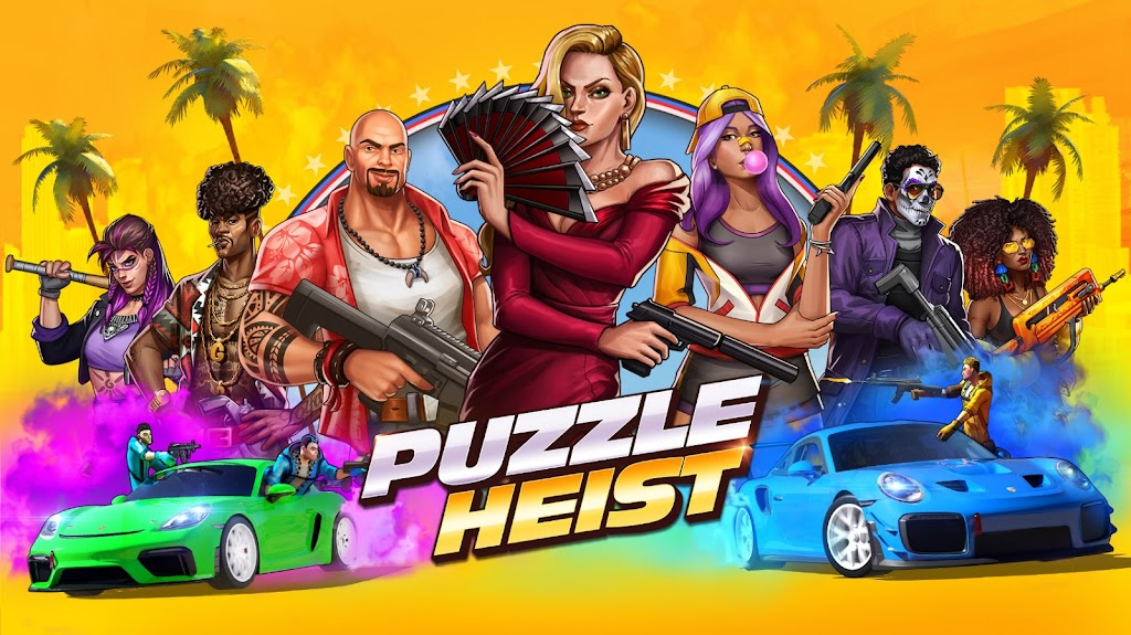 Puzzle Heist: Epic Action RPG poster 7