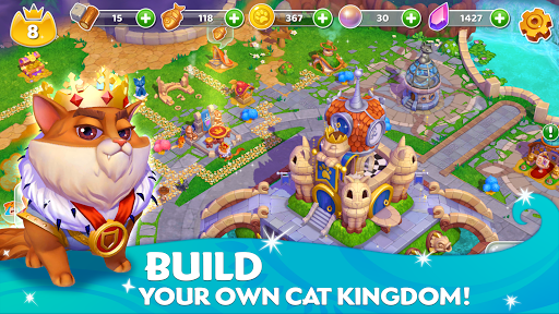 Cats & Magic: Dream Kingdom  screenshots 3