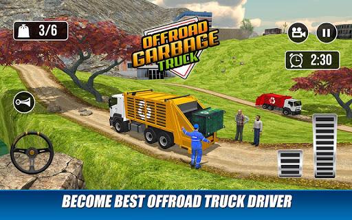 Offroad Garbage Truck: Dump Truck Driving Games 1.1.6 screenshots 14