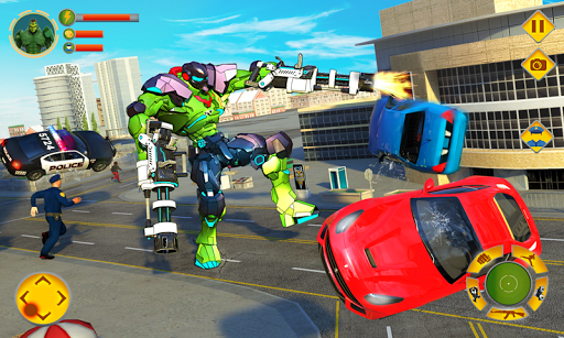 Incredible Monster Robot Hero Crime Shooting Game 2.0.4 screenshots 2