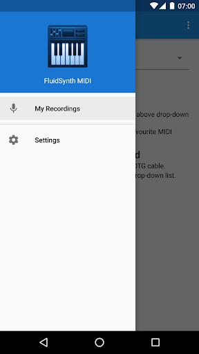 FluidSynth MIDI Synthesizer 1.2.1 screenshots 1
