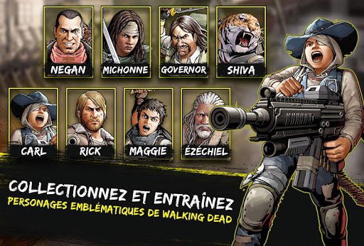 The Walking Dead: Road to Survival APK MOD – ressources Illimitées (Astuce) screenshots hack proof 2