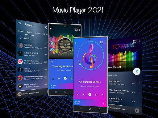 Music Player 2021 v3.4.9 screenshots 1