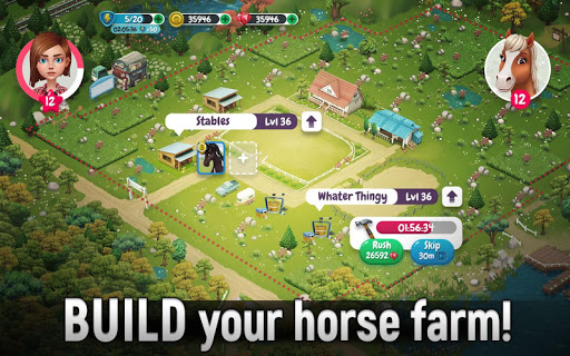 Horse Legends: Epic Ride Game android2mod screenshots 5