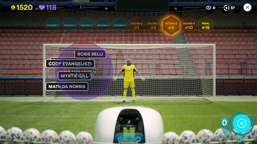 Live Penalty: Score goals against real goalkeepers  screenshots 2