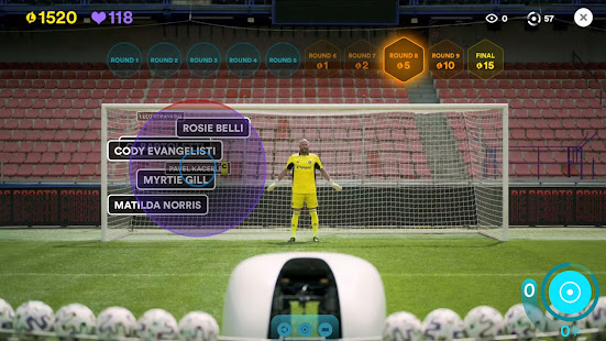 Live Penalty: Score goals against real goalkeepers 3.4.0 Screenshots 2