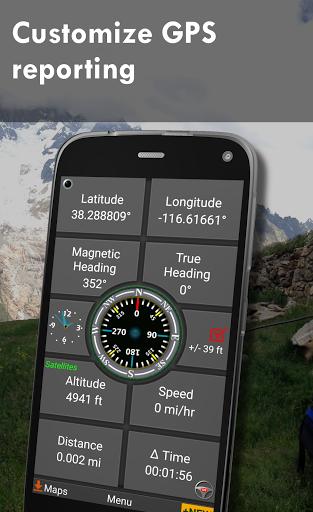 Polaris GPS Navigation: Hiking, Marine, Offroad 9.17 Screenshots 6