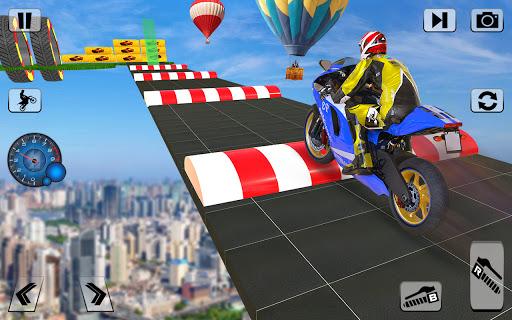 Bike Impossible Tracks Race: 3D Motorcycle Stunts  Screenshots 5
