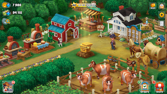 Wild West: New Frontier. Build your super farm. Screenshot