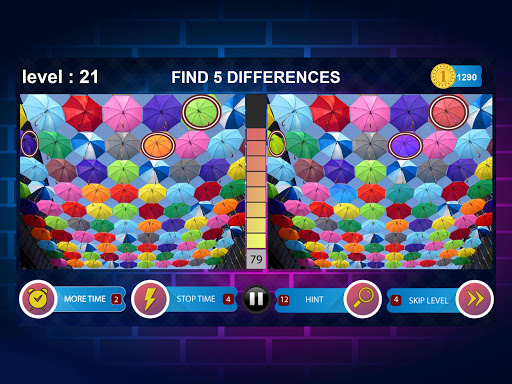 Spot 5 Differences 1000 levels 1.6.8 screenshots 15