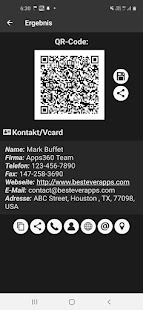 QR- und Barcode-Scanner PRO Screenshot