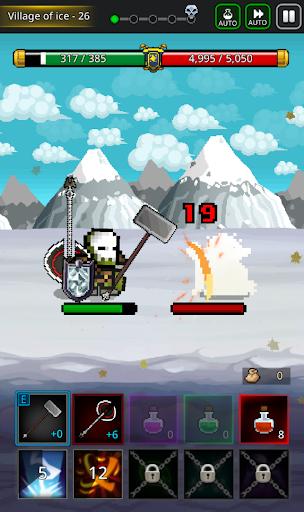 Grow SwordMaster - Idle Action Rpg apkslow screenshots 4