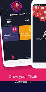 Tikfollowers Get Free Tiktok Followers And Likes 1 0 6 Apk Mod Unlimited Money Untuk Android