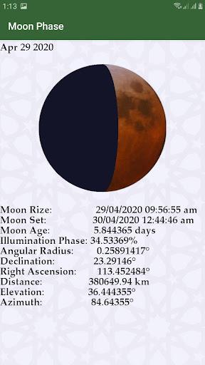 Hijri calendar (Islamic Date) and Moon finder 4.2 Screenshots 4