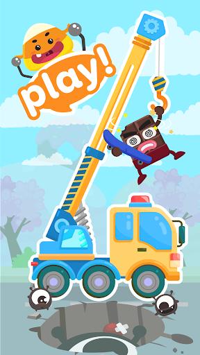 CandyBots Cars & Trucks🚓Vehicles Kids Puzzle Game  screenshots 1