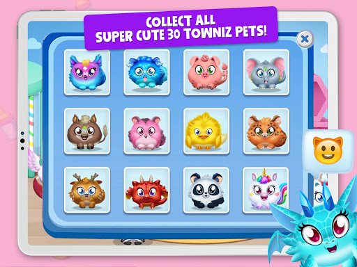 Towniz - Raise Your Cute Pet screenshots 10