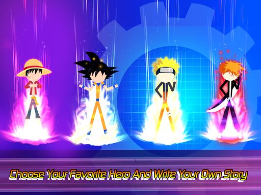 Super Stick Fight All-Star Hero: Chaos War Battle modavailable screenshots 19