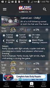 KCBD First Alert Weather 5.0.1100 APK + MOD (Unlocked) 3
