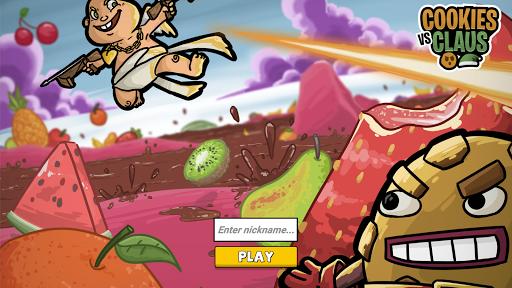 Télécharger Cookies vs. Claus: Arena Games  APK MOD (Astuce) screenshots 1