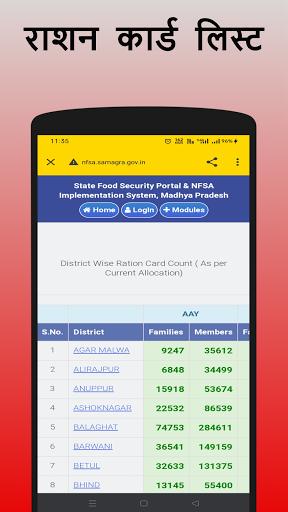 राशन कार्ड App  - Ration Card List All States 2021  screenshots 2