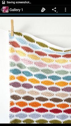 かぎ針編みの毛布のおすすめ画像5