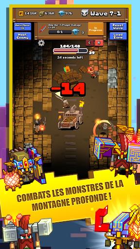 Idle Mine RPG APK MOD (Astuce) screenshots 4