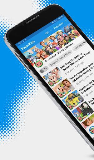 SuperKids - videos & cartoons, songs for your kids  Screenshots 1