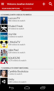 Channel Tracker - YouTube client