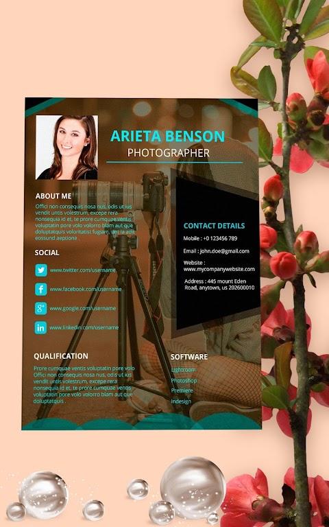 Resume Template, Resume Writer & Cover Letter  poster 14