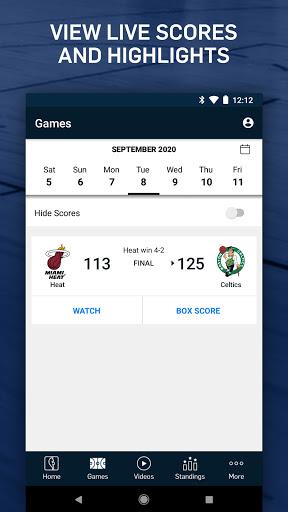 NBA: Live Games & Scores screenshots 5