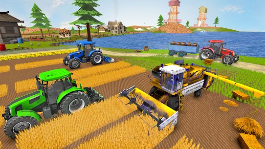 Real Tractor Farmer Simulator: Tractor Games 3