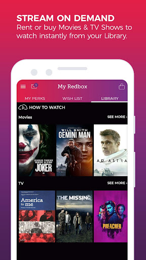 REDBOX: Rent, Stream, Buy New Movies, Free Live TV screenshots 2