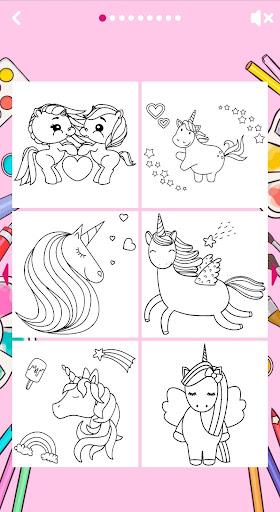 Unicorn Coloring Book ud83eudd84 2.2 screenshots 15